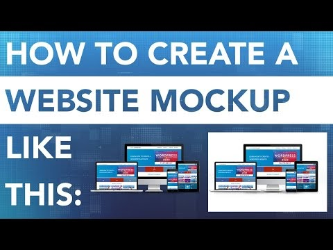 How To Create A Responsive Website Screen Mockup