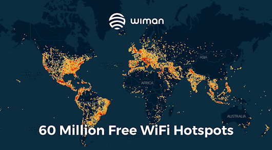 Wiman launches global Free WiFi online discovery solution.