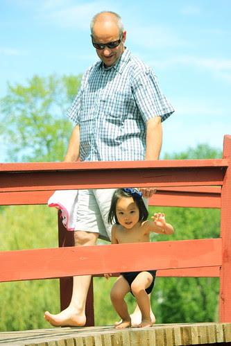papie & nono's visit: summer 09