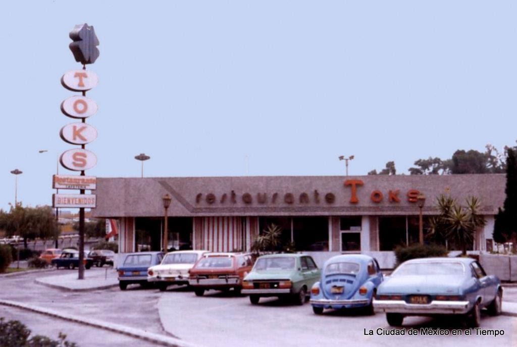 Toks Taxquena 70s Daniel Salinas La Ciudad De Mexico En