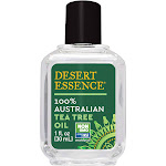 Desert Essence 100% Australian Tea Tree Oil, 1 Ounce