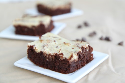 Chocolate Cheesecake Brownies - BargainBriana
