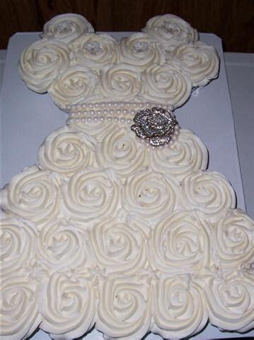 Bridal Shower Cupcake Dress   Bettycake's Photo's and More