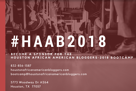 Become a Sponsor for the #HAAB2018 Blog Bootcamp