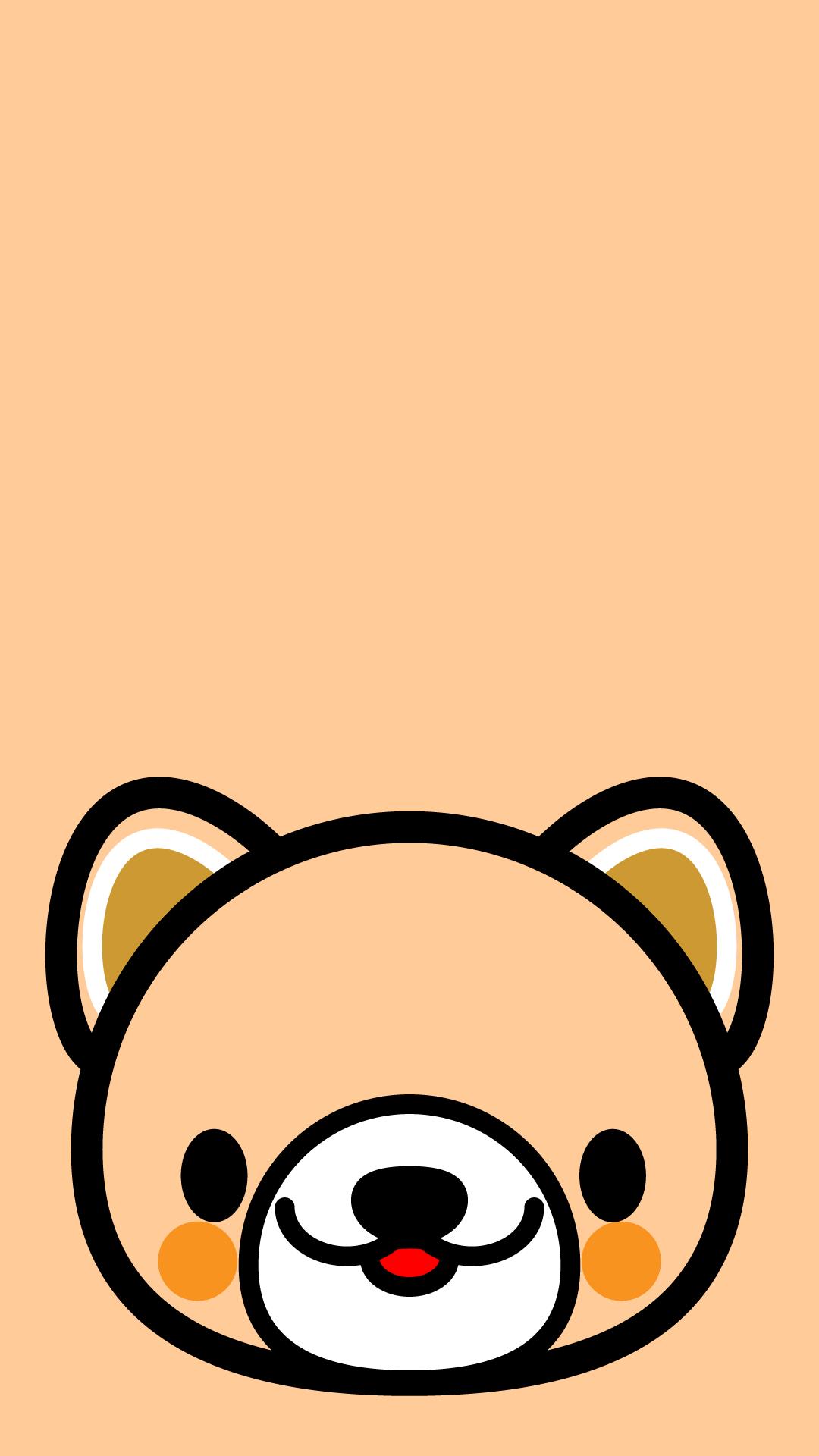 かわいい顔だけ犬壁紙 Iphone の無料イラスト 商用フリー オイデ43
