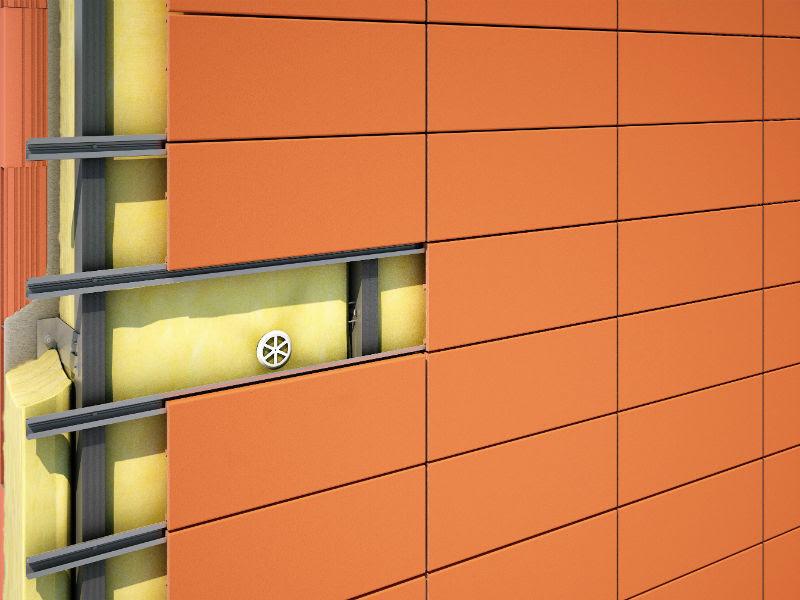 Облицовка фасада керамогранитом смета