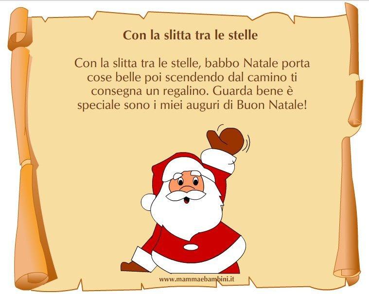 Poesie Di Natale Asilo Nido.Frasi Sul Natale Per Bambini Scuola Infanzia