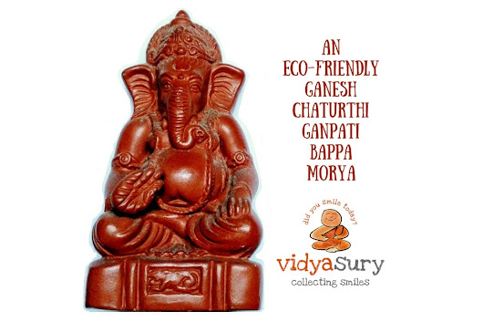 Eco-friendly Ganesh Chaturthi Ideas | Vidya Sury, Collecting Smiles