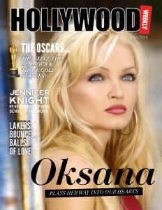 Oksana Kolesnikova, Hollywood week, copertina aprile 2015