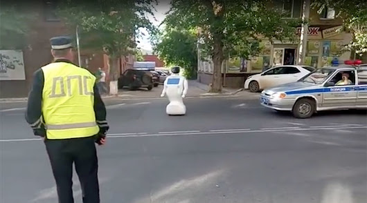 Russian Robot Escapes Its Lab, Hijinks Ensue