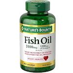 Nature's Bounty Fish 2400 mg OilSoftgels 90 ea by Pharmapacks