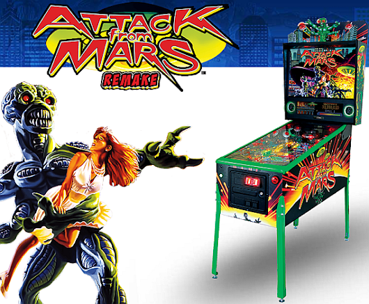 Thrill Of The Chase: Attack From Mars Remake