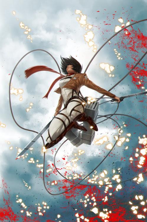 Shingeki No Kyojin Fan Art by Jarreau Wimberly