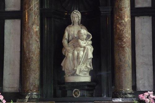 Michelangelo Madonna and Child by mkline55