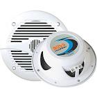 """Boss Audio MR60W 2-way Marine Speaker - 6.5"""" - White"""