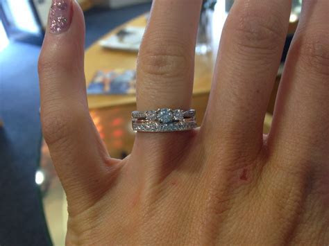 More wedding ring shopping. Do you think this ring is too