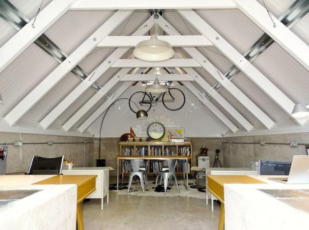 16 Magnificent Attic Office Design Ideas