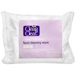Clean & Clear Makeup Dissolving Facial Cleansing Wipes 25 Each (pack Of 2)