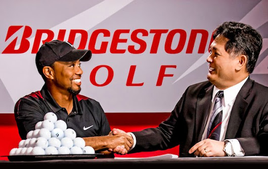 Breaking News: Tiger Woods Signs With Bridgestone Golf
