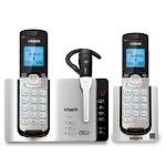 Vtech VT-DS6771-3 Handset Cordless Phone Silver & Black