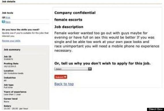 escort jobs
