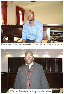 """""""Angolanos têm direito à raiva, à revolta e à revolução"""", afirma Domingos da Cruz"""