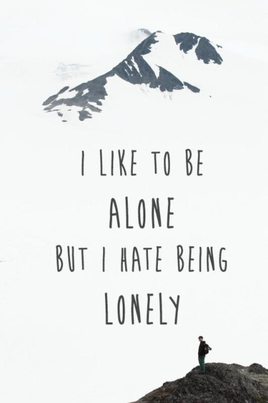 Happy Alone Quotes Sayings Happy Alone Picture Quotes