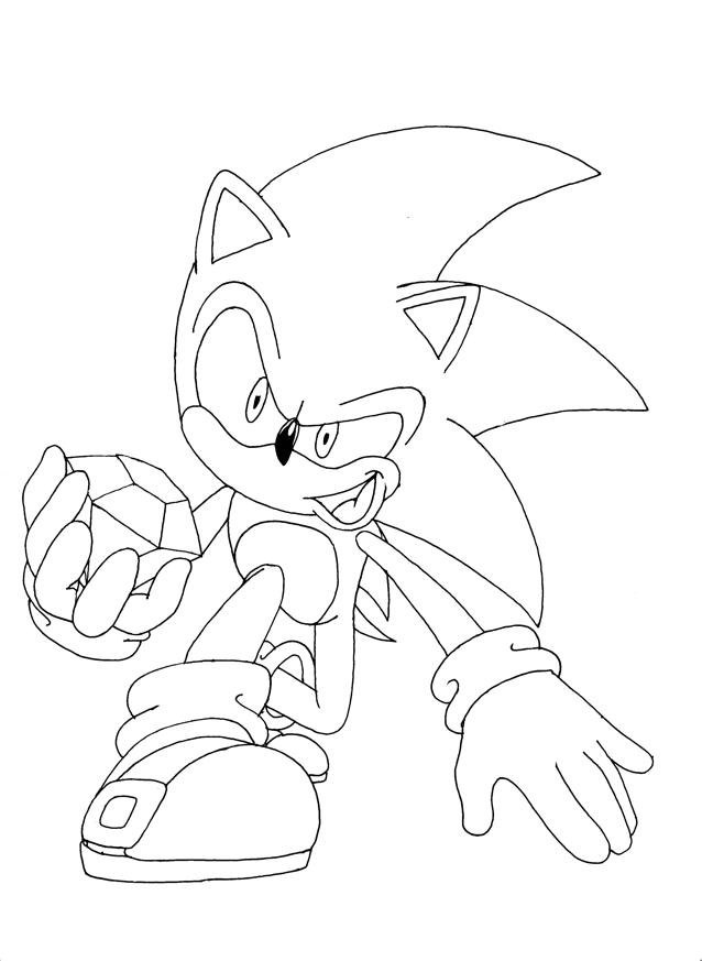 Sonic Games Drawing at GetDrawings | Free download