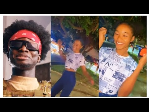 Kuami Eugene And His House Help Mary, Bunker Dance Moves [Watch]