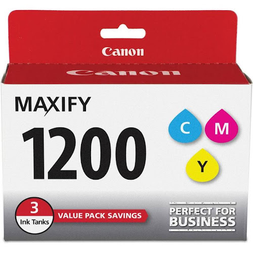 Canon PGI 1200 CMY Value Pack Ink tank, Cyan/Magenta/Yellow - 3-pack