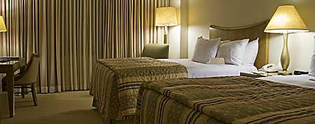 Hotel room (iStockPhoto)