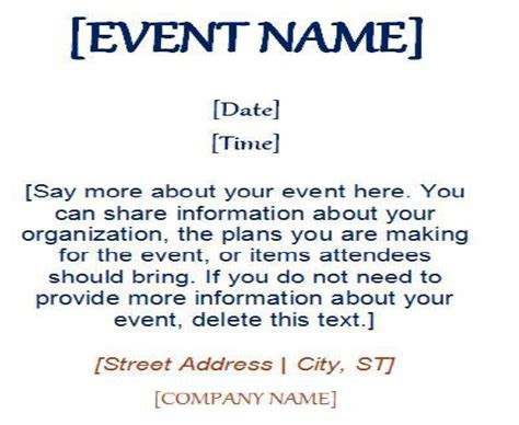 Email Marketing Event Invitation