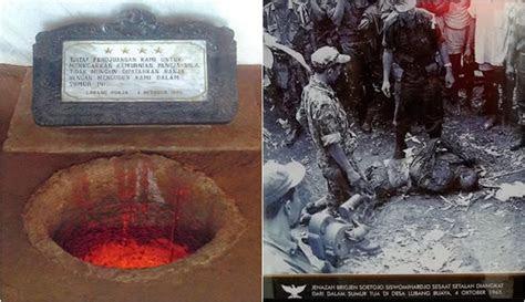 lubang buaya tempat pembantaian pahlawan