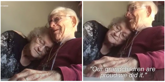Watch the Emotional Video of a Husband Serenading His Wife on Their 70th Anniversary