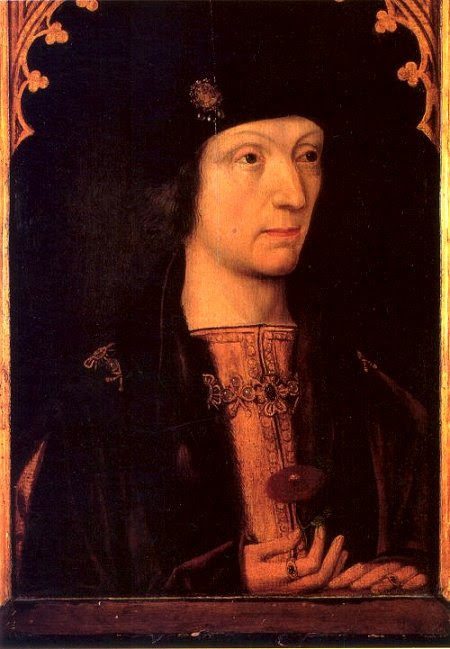 Was Roland de Velville the son of Henry VII….?