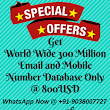 Authentic Database Provider|Global and All India Mobile Number Database and Email Database