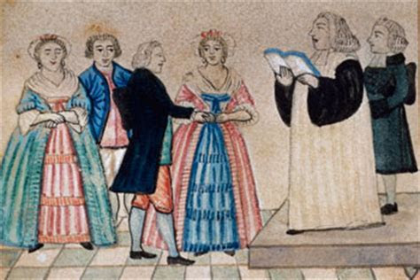 Courtship and Marriage in the Eighteenth Century : The