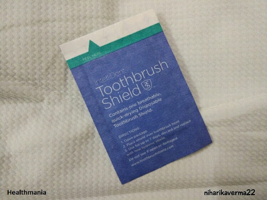 Boost Your Oral Hygiene With IntelliDent Toothbrush Shield • Healthmania