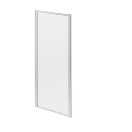 Wickes Chrome Shower Side Panel Only - 1850 X 760mm ...