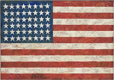 Джаспер Джонс Флаг