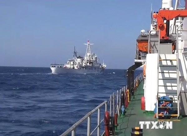 Biển Đông, Trung Quốc, giàn khoan, Hải Dương 981, LHQ, WTO, chủ quyền, UNCLOS, DOC