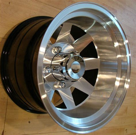 15x10 Aluminum Jackman Style Wheels Rims Mags 5x5 5 Ford