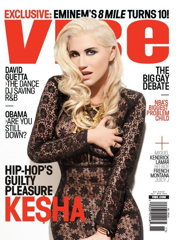Vibe - November 2012, Ke$ha