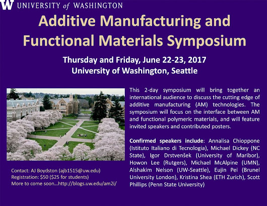 Additive Manufacturing and Functional Materials Symposium