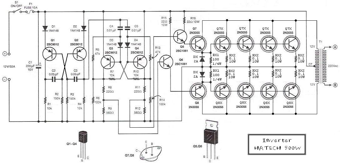220 volt schematic wiring diagram subwoffer wiring diagram 500w 12 volt to 220 volt inverter  subwoffer wiring diagram 500w 12 volt