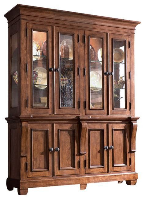 Kincaid Tuscano Solid Wood China Cabinet   Traditional   China Cabinets And Hutches   by Bedroom