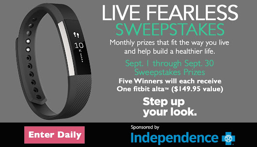 PhillyVoice.com Live Fearless Monthly Sweepstakes | PhillyVoice