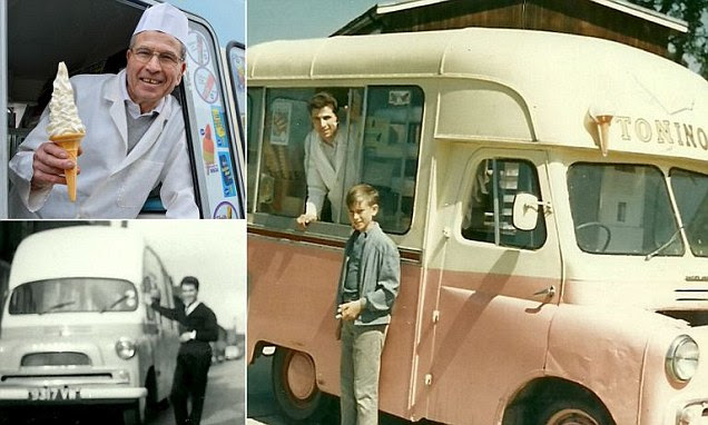 His half century long career has seen him build an empire of six vans and his own ice cream manufacturing plant, in Watford, and earn a place in the Guinness World Record for 'Longest Career As An Ice Cream Man'