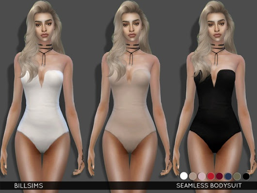 The Sims Resource: Seamless Bodysuit by Bill Sims • Sims 4 Downloads