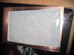 Sticker backing PCB